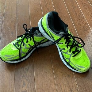 ASICS yellow Gel-Kayano 21 sneakers